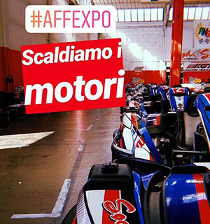 Affiliate Expo gara di Go Kart