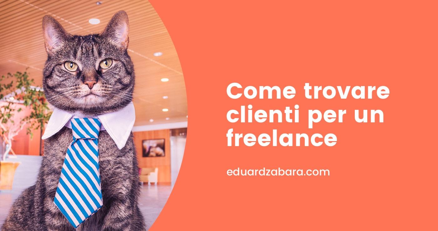 Come trovare clienti da web developer freelance